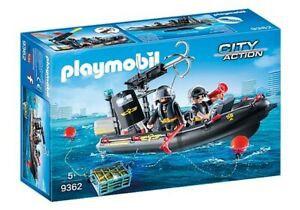 Playmobil - SWAT Boat PMB9362 (4008789093622)