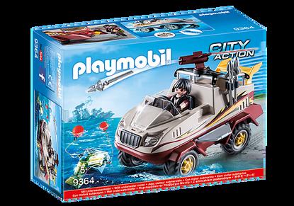 Playmobil - Amphibious Truck PMB9364 (4008789093646)