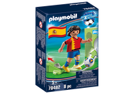 Playmobil - Soccer National Player SPAIN