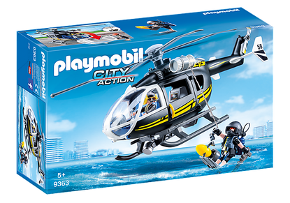 Playmobil - SWAT Helicopter PMB9363