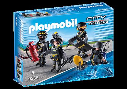 Playmobil - SWAT Team PMB9365 (4008789093653)