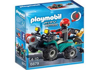 Playmobil - Robbers Quad with Loot PMB6879 (4008789068798)