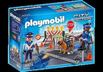 Playmobil - Police Roadblock PMB6924 (4008789069245
