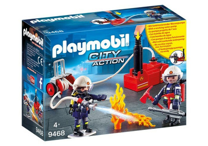 Playmobil - Firefighters with Water Pump PMB9468 (4008789094681)