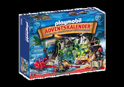 Playmobil - Advent Calendar - Pirate Cove Treasure Hunt PMB70322