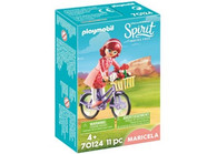 Playmobil - Spirit Maricela with Bicycle PMB70124 (4008789701244)