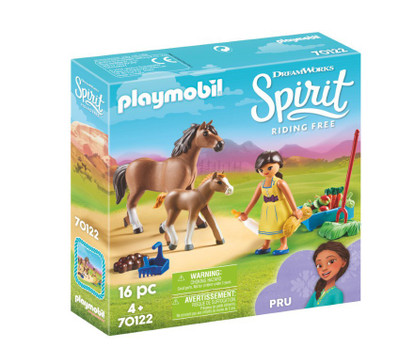 Playmobil - Spirit Pru with Horse and Foal PMB70122 (4008789701220)
