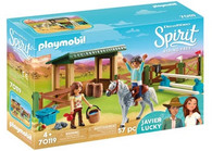 Playmobil - Spirit Riding Arena With Lucky and Javier PMB70119 (4008789701190)