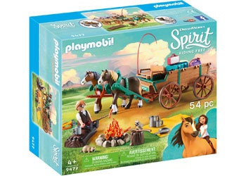 Playmobil - Spirit Lucky's Father and Carriage PMB9477 (4008789094773)
