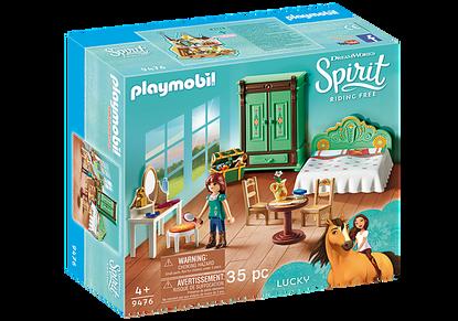 Playmobil - Spirit Lucky's Bedroom PMB9476 (4008789094766)