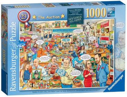 Ravensburger- The Auction (No 23) 1000 piece Jigsaw Puzzle RB19943-3