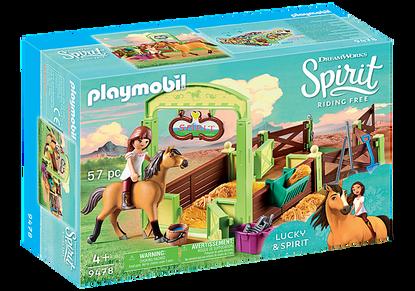 Playmobil - Spirit Horse Stable 'Lucky & Spirit' PMB9478 (4008789094780)