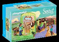 Playmobil - Spirit Horse Stable 'Pru & Chica Linda' PMB9479 (4008789094797)