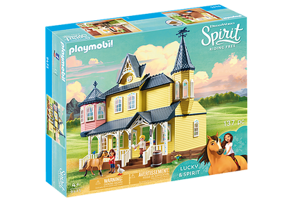 Playmobil - Spirt Lucky's Happy Home PMB9475 (4008789094759)
