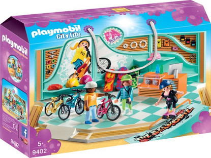 Playmobil - Bike & Skate Shop PMB9402 (4008789094025)