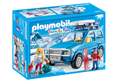 Playmobil - Winter SUV PMB9281 (4008789092816)