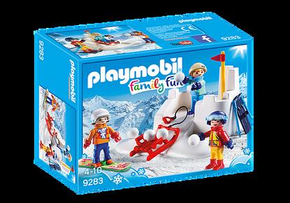 Playmobil - Snowball Fight PMB9283 (4008789092830)