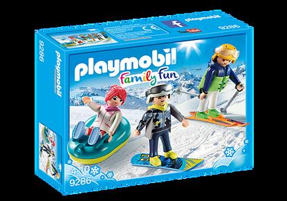 Playmobil - Winter Sports Trio PMB9286 (4008789092861)