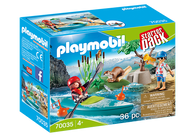 Playmobil - Park Kayak Adventure Starter Pack PMB70035