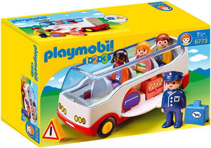 Playmobil - 1.2.3 Airport Shuttle Bus PMB6773 (4008789067739)