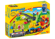 Playmobil 1.2.3 - My FirstTrain Set PMB70179 (4008789701794)