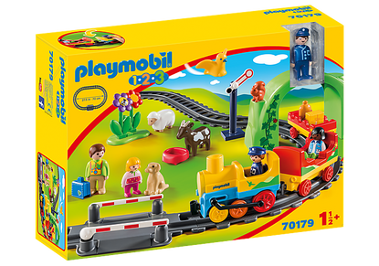 Playmobil 1.2.3 - My FirstTrain Set PMB70179 (4008789701794)