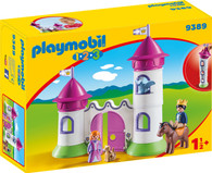 Playmobil - 1.2.3 Castle with Stakable Towers PMB9389 (4008789093899)
