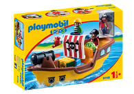 Playmobil - 123 Pirate Ship PMB9118 (4008789091185)