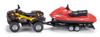 Siku - Quad with Jet-ski - 1:50 Scale SI2314 (4006874023141)