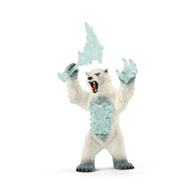 Schliech - Blizzard bear with weapon SC42510 (4059433011868)