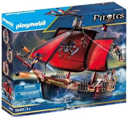 Playmobil - Skull Pirate Ship PMB70411 (4008789704115)