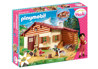 Playmobil - Heidi at the Alpine Hut PMB70253 (4008789702531)