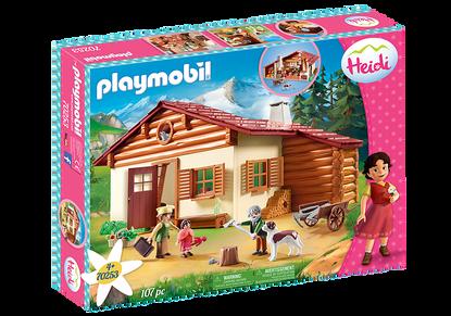 Playmobil - Heidi at the Alpine Hut PMB70253 (4008789702531)