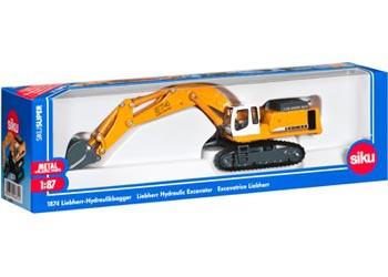 Siku - Hydraulic Excavator - 1:87 Scale SI1874 (4006874018741)