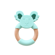 Jellystone Designs - Jellies Silicone and Wood Koala - Soft Mint