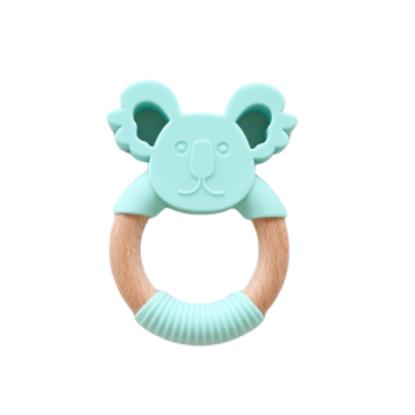 Jellystone Designs - Jellies Silicone and Wood Koala - Soft Mint