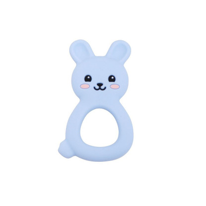 Jellystone Designs - Jellies Bunnies Teether - Soft Blue