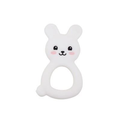 Jellystone Designs - Jellies Bunny Teether - White