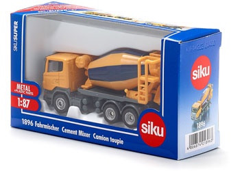 Siku - Cement Mixer - 1:87 Scale SI1896 (4006874018963)