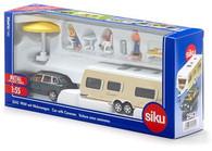 Siku - Porsche Car with Caravan - 1:55 Scale SI2542 (4006874025428)
