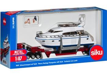 Siku - MAN Transporter with Yacht - 1:87 Scale SI1849 (4006874018499)