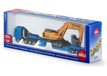 Siku - MAN, Haulage Transporter with Trailer - 1:87 Scale SI1847