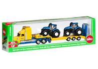 Siku - New Holland Truck with 2 New Holland Tractors - 1:87 Scale SI1805 (4006874018055)