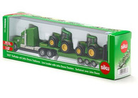 Siku - John Deere Low Loader with John Deeres - 1:87 Scale SI1837 (4006874018376)