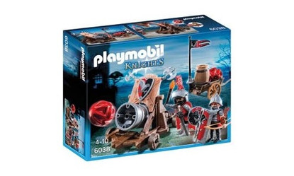 Playmobil - Hawk Knights' Battle Cannon PMB6038 (4008789060389)