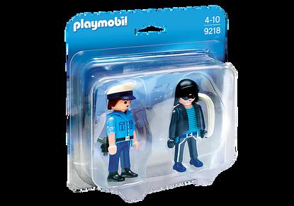 Playmobil - Policeman and Burglar PMB9218 (4008789092182)