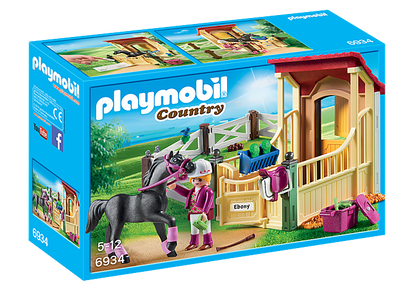 Playmobil - Horse Stable with Arabian Horse PMB6934 (4008789069344)