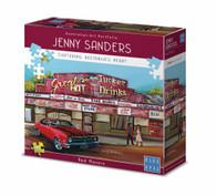 Blue Opal Jenny Sanders Red Monaro 1000 piece Deluxe Jigsaw Puzzle