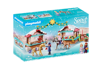 Playmobil - Spirit A Miradero Christmas Market PMB70395