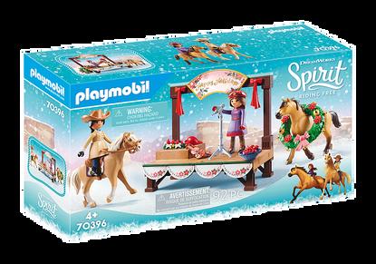 Playmobil - Spirit Christmas Concert Stage PMB70396